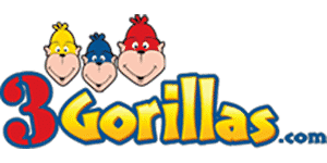3 Gorillas Coupon Logo